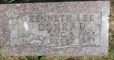 CONRAD, KENNETH LEE - Dixon County, Nebraska   KENNETH LEE CONRAD - Nebraska Gravestone Photos