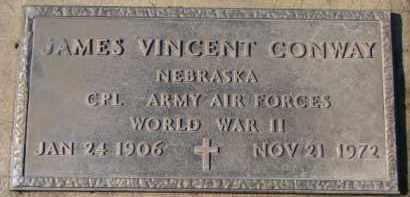 CONWAY, JAMES VINCENT - Dixon County, Nebraska | JAMES VINCENT CONWAY - Nebraska Gravestone Photos