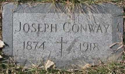 CONWAY, JOSEPH - Dixon County, Nebraska | JOSEPH CONWAY - Nebraska Gravestone Photos