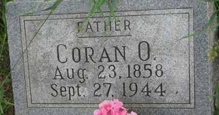 COOK, CORAN O. - Dixon County, Nebraska | CORAN O. COOK - Nebraska Gravestone Photos