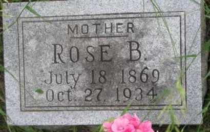 COOK, ROSE B. - Dixon County, Nebraska   ROSE B. COOK - Nebraska Gravestone Photos