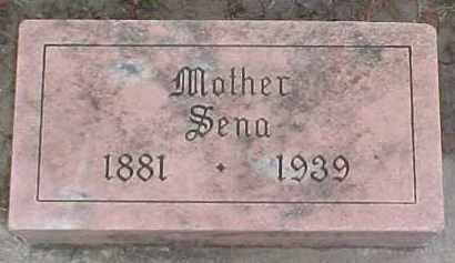 COOK, SENA - Dixon County, Nebraska | SENA COOK - Nebraska Gravestone Photos