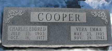 COOPER, CHARLES EDDRED - Dixon County, Nebraska | CHARLES EDDRED COOPER - Nebraska Gravestone Photos