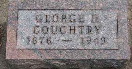 COUGHTRY, GEORGE H. - Dixon County, Nebraska | GEORGE H. COUGHTRY - Nebraska Gravestone Photos