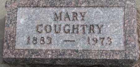 COUGHTRY, MARY - Dixon County, Nebraska | MARY COUGHTRY - Nebraska Gravestone Photos