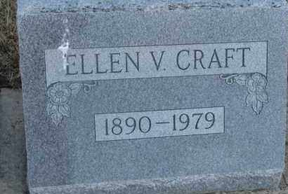 CRAFT, ELLEN V. - Dixon County, Nebraska   ELLEN V. CRAFT - Nebraska Gravestone Photos