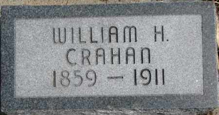 CRAHAN, WILLIAM H. - Dixon County, Nebraska   WILLIAM H. CRAHAN - Nebraska Gravestone Photos