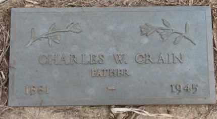 CRAIN, CHARLES W. - Dixon County, Nebraska   CHARLES W. CRAIN - Nebraska Gravestone Photos
