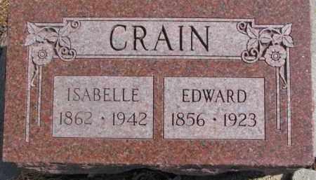 CRAIN, ISABELLE - Dixon County, Nebraska | ISABELLE CRAIN - Nebraska Gravestone Photos