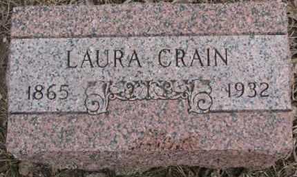 CRAIN, LAURA - Dixon County, Nebraska | LAURA CRAIN - Nebraska Gravestone Photos