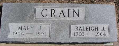 CRAIN, MARY J. - Dixon County, Nebraska | MARY J. CRAIN - Nebraska Gravestone Photos