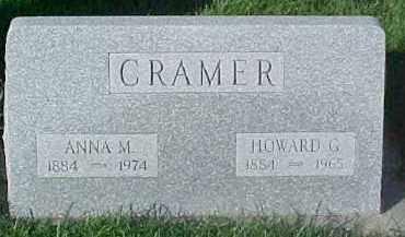 CRAMER, ANNA M. - Dixon County, Nebraska | ANNA M. CRAMER - Nebraska Gravestone Photos