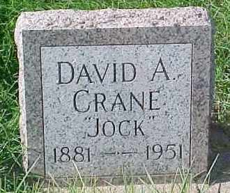 CRANE, DAVID A. - Dixon County, Nebraska | DAVID A. CRANE - Nebraska Gravestone Photos