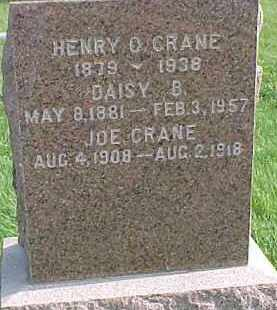 CRANE, JOE - Dixon County, Nebraska | JOE CRANE - Nebraska Gravestone Photos