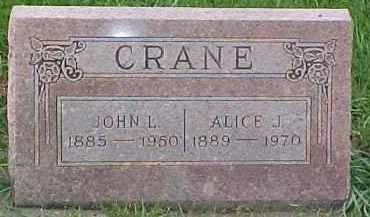 CRANE, ALICE JULIA - Dixon County, Nebraska | ALICE JULIA CRANE - Nebraska Gravestone Photos