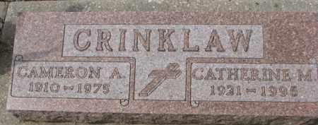 CRINKLAW, CATHERINE M. - Dixon County, Nebraska | CATHERINE M. CRINKLAW - Nebraska Gravestone Photos