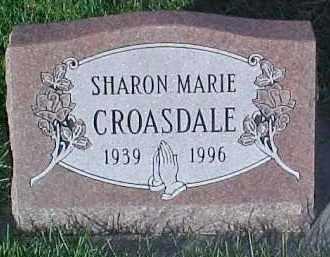 CROASDALE, SHARON MARIE - Dixon County, Nebraska   SHARON MARIE CROASDALE - Nebraska Gravestone Photos