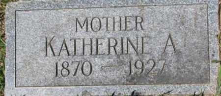 CRYAN, KATHERINE A. - Dixon County, Nebraska   KATHERINE A. CRYAN - Nebraska Gravestone Photos