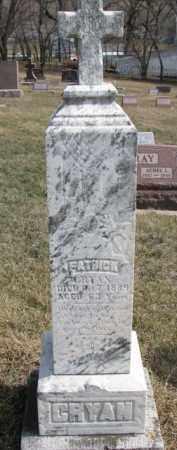 CRYAN, PATRICK - Dixon County, Nebraska   PATRICK CRYAN - Nebraska Gravestone Photos