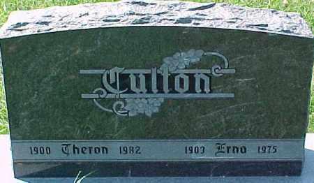 CULTON, THERON - Dixon County, Nebraska | THERON CULTON - Nebraska Gravestone Photos