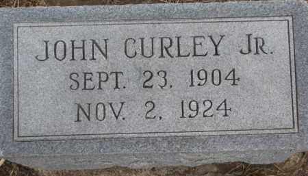 CURLEY, JOHN JR. - Dixon County, Nebraska | JOHN JR. CURLEY - Nebraska Gravestone Photos