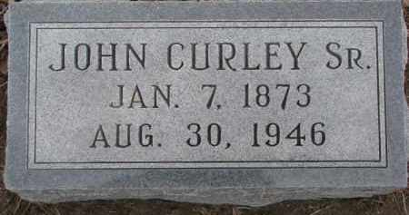 CURLEY, JOHN SR. - Dixon County, Nebraska   JOHN SR. CURLEY - Nebraska Gravestone Photos
