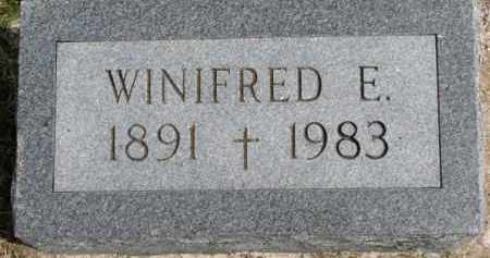 CURRAN, WINIFRED E. - Dixon County, Nebraska   WINIFRED E. CURRAN - Nebraska Gravestone Photos