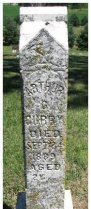 CURRY, ARTHUR G. - Dixon County, Nebraska | ARTHUR G. CURRY - Nebraska Gravestone Photos