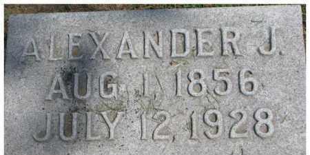 CURRY, ALEXANDER J. - Dixon County, Nebraska | ALEXANDER J. CURRY - Nebraska Gravestone Photos