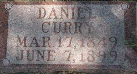 CURRY, DANIEL - Dixon County, Nebraska | DANIEL CURRY - Nebraska Gravestone Photos