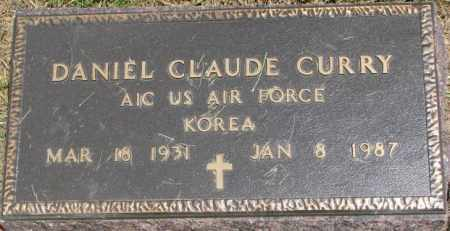 CURRY, DANIEL CLAUDE (KOREA MARKER) - Dixon County, Nebraska | DANIEL CLAUDE (KOREA MARKER) CURRY - Nebraska Gravestone Photos