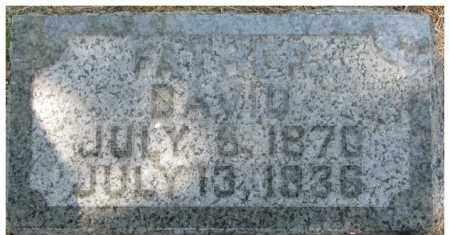 CURRY, DAVID - Dixon County, Nebraska   DAVID CURRY - Nebraska Gravestone Photos