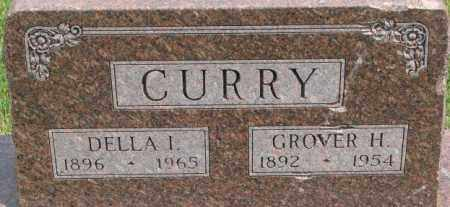 CURRY, DELLA I. - Dixon County, Nebraska | DELLA I. CURRY - Nebraska Gravestone Photos