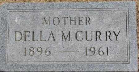 CURRY, DELLA M. - Dixon County, Nebraska | DELLA M. CURRY - Nebraska Gravestone Photos