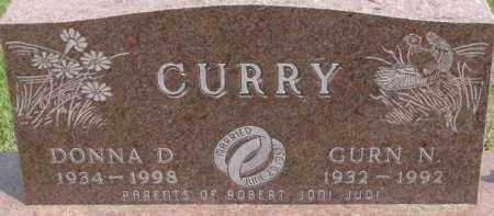 CURRY, DONNA D. - Dixon County, Nebraska | DONNA D. CURRY - Nebraska Gravestone Photos