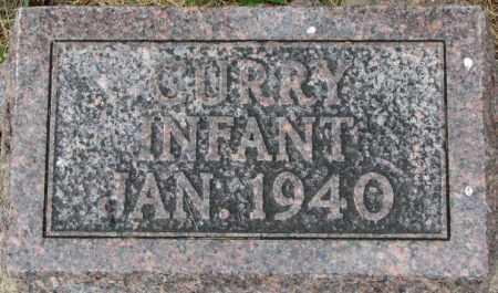 CURRY, INFANT 1940 - Dixon County, Nebraska   INFANT 1940 CURRY - Nebraska Gravestone Photos