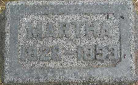 CURRY, MARTHA - Dixon County, Nebraska | MARTHA CURRY - Nebraska Gravestone Photos
