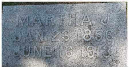 CURRY, MARTHA J. - Dixon County, Nebraska | MARTHA J. CURRY - Nebraska Gravestone Photos