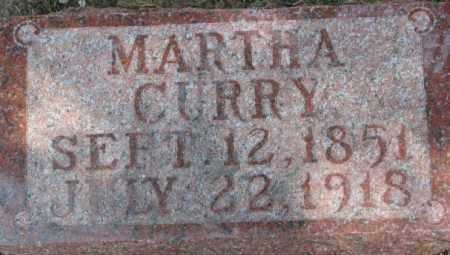 CURRY, MARTHA - Dixon County, Nebraska | MARTHA CURRY - Nebraska Gravestone Photos