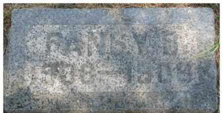CURRY, PANSY B. - Dixon County, Nebraska | PANSY B. CURRY - Nebraska Gravestone Photos