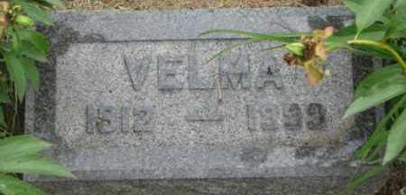 CURRY, VELMA - Dixon County, Nebraska | VELMA CURRY - Nebraska Gravestone Photos