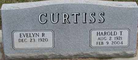 CURTISS, HAROLD T. - Dixon County, Nebraska | HAROLD T. CURTISS - Nebraska Gravestone Photos