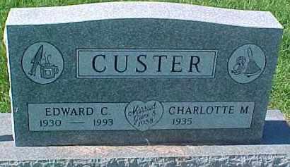 CUSTER, CHARLOTTE M. - Dixon County, Nebraska   CHARLOTTE M. CUSTER - Nebraska Gravestone Photos