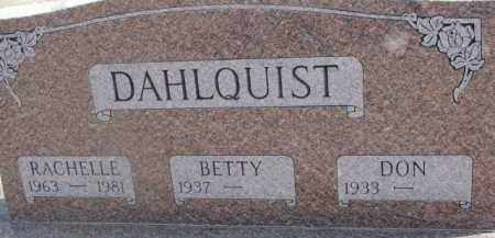 DAHLQUIST, BETTY - Dixon County, Nebraska | BETTY DAHLQUIST - Nebraska Gravestone Photos