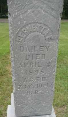 DAILEY, BERNETTA E. - Dixon County, Nebraska | BERNETTA E. DAILEY - Nebraska Gravestone Photos