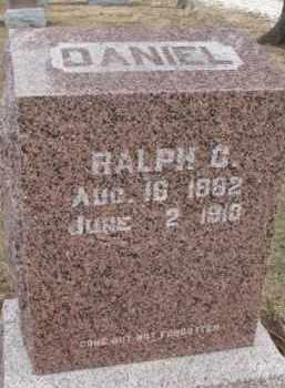 DANIEL, RALPH C. - Dixon County, Nebraska | RALPH C. DANIEL - Nebraska Gravestone Photos