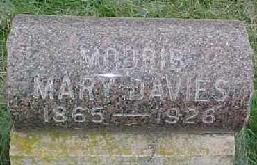 DAVIES, MARY - Dixon County, Nebraska | MARY DAVIES - Nebraska Gravestone Photos