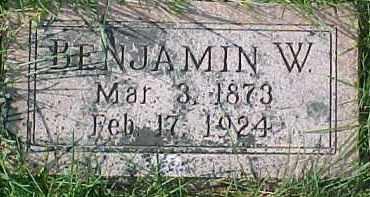 DAVIS, BENJAMIN W. - Dixon County, Nebraska | BENJAMIN W. DAVIS - Nebraska Gravestone Photos