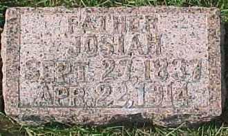 DAVIS, JOSIAH - Dixon County, Nebraska | JOSIAH DAVIS - Nebraska Gravestone Photos