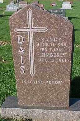 DAIS, RANDY - Dixon County, Nebraska   RANDY DAIS - Nebraska Gravestone Photos